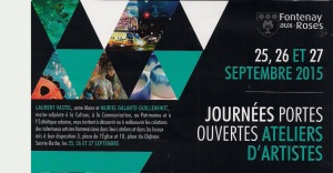 Affiche 2 expo JPO Fontenay 2015