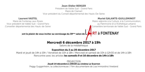 invitation ARTaFONTENAY 2017 verso