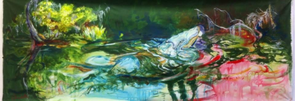 Alligator bleu dans le bayou 2