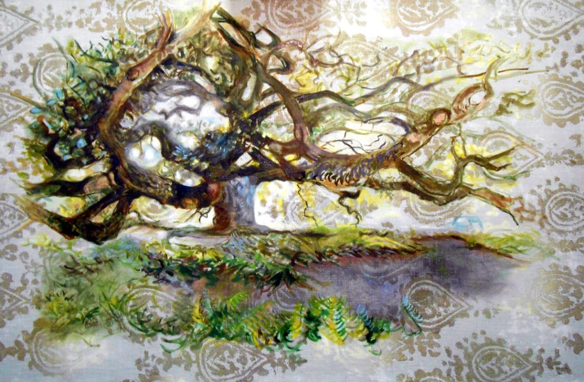lumière bleue dans le chêne (2)
