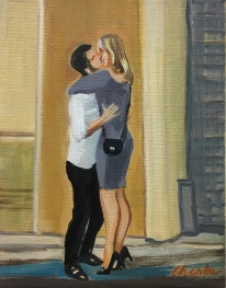numart Chesta, le baiser de Montparnasse