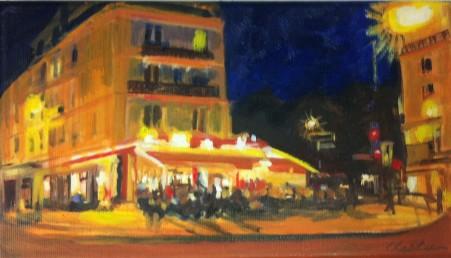 numart Chesta, le Café St Victor, Paris 5ème