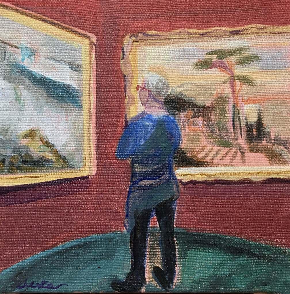 LR49 Edinburgh, National Gallery, Jacqueline Chesta